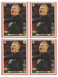 4 X Rookie Haaland Sticker Panini Fifa 365 2020 2021 #8 Invest