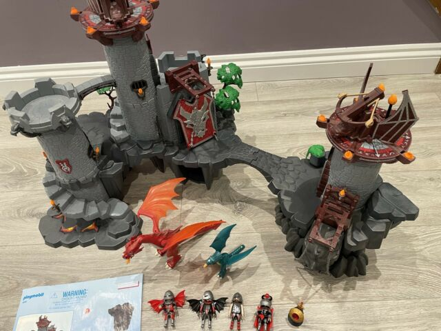 Playmobil 5996 Dragons Knights Castle And 4836 Castle Extension