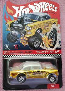 Hot Wheels RLC 2019 Selections Series Dirty Blond /'55 Chevy Bel Air