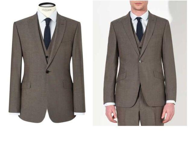 99c39791bf6 Kin by John Lewis Kroft Plainweave Slim Fit Suit Jacket Size 42R RRP £109 -