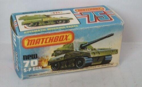 Repro box Matchbox Superfast nº 70 S-P Gun