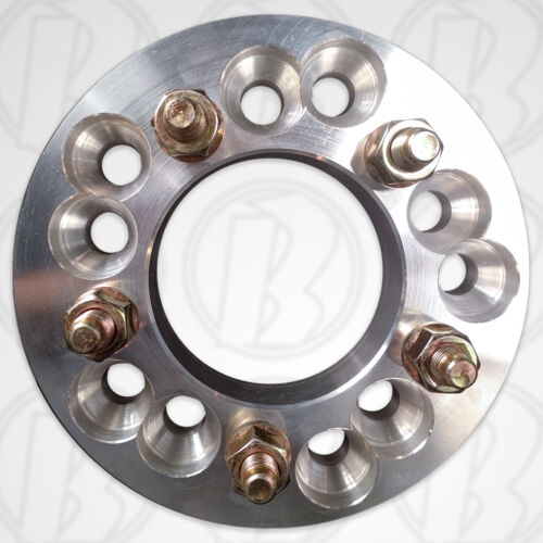 """5x4.75/"""" To 5x135mm Wheel Adapter 1.25/"""" Spacer W// Studs /& Nuts 1pc5x4.5/"""""""