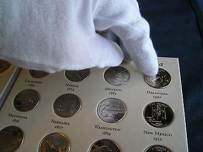 50 State National Parks Quarter Map Album Coin Collector Holder Quarters ! Best