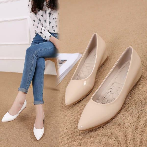 Women Hidden Heel Shoes Pointed Small Size Pumps Shoes Work and OL Shoes Pumps Size 57a788