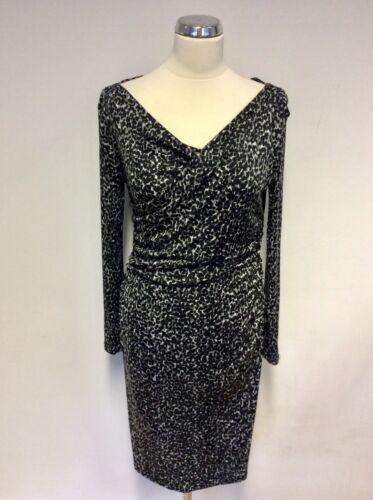 Bennett 10 Robe et grise lᄄᆭopard Lk Taille Mariella imprimᄄᆭe noire edCxrBo