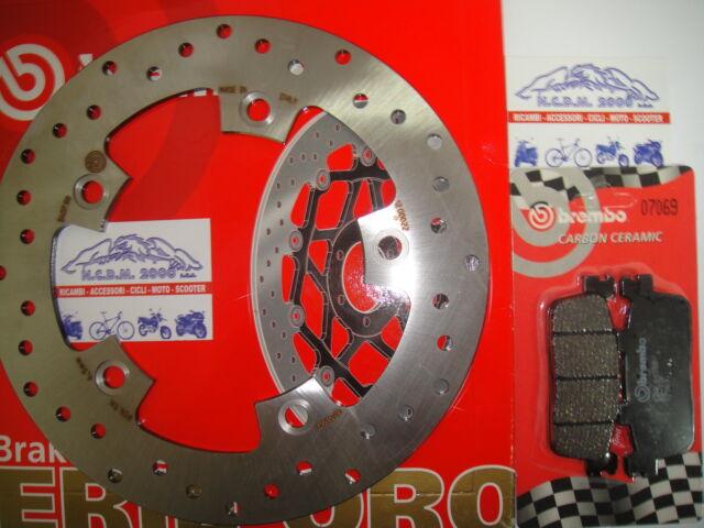 DISCO FRENO BREMBO+PASTILLAS TRASEROS KYMCO 250 XCITING 05 > 08 799