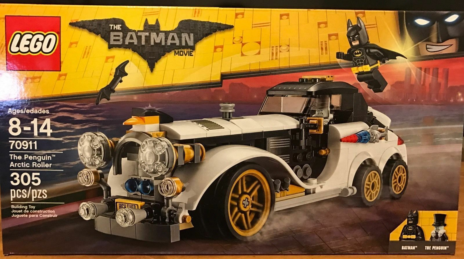 LEGO 70911 The Batman Movie The Penguin Arctic Roller  In Hand  New  2017