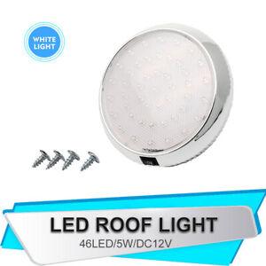 12V-46-LED-Coche-Luces-Interiores-Camper-Camioneta-Bote-Caravana-Techo-Doom-Luz-Blanca-UK