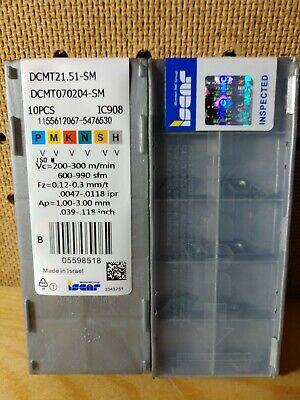 SDNCN1616H07 16mm*100mm External Turning Tool Holder 10pcs DCMT070204 21.51