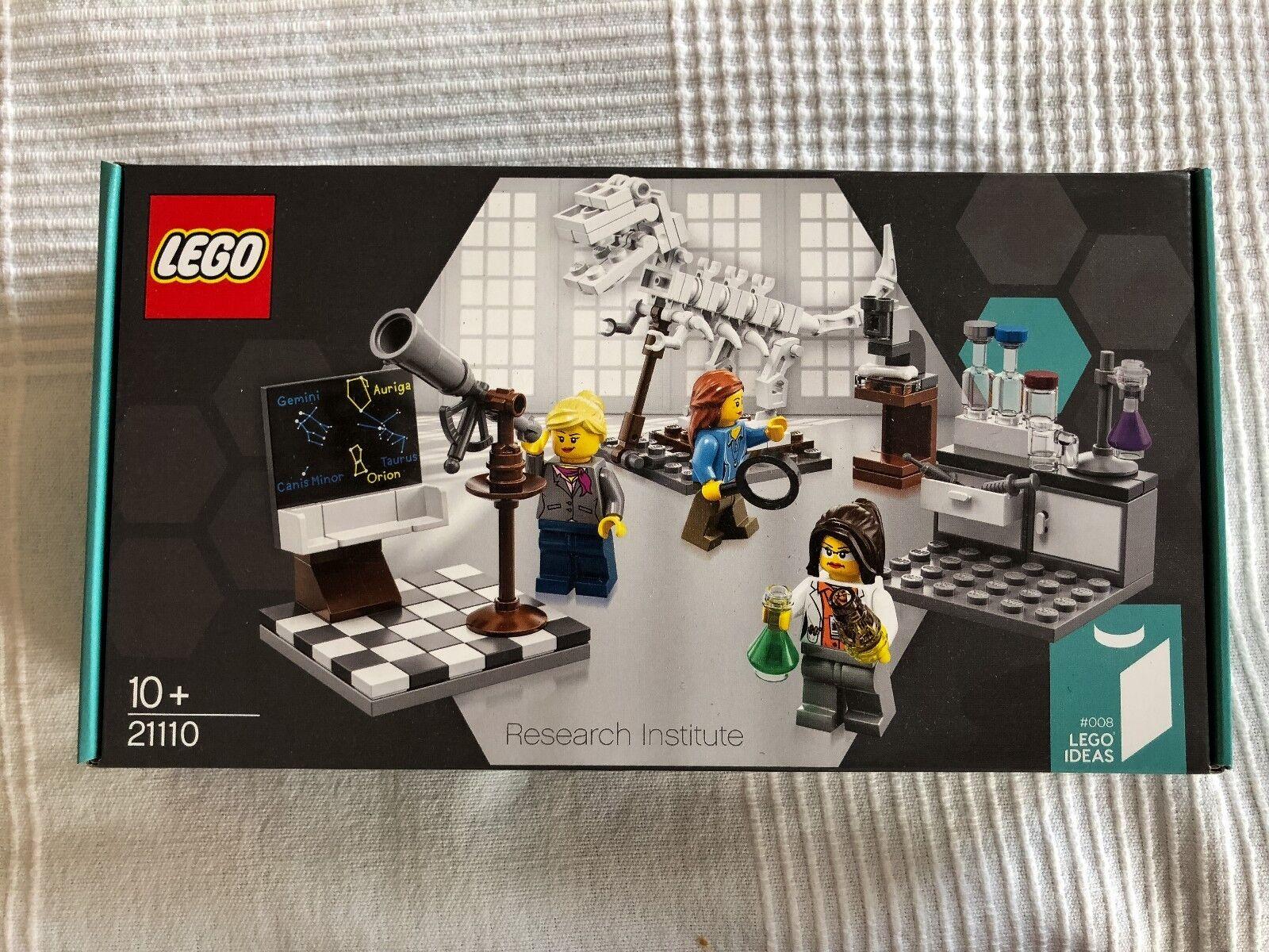 LEGO 21110 IDEAS  institut de recherche-Research Institute nouveau NOUVEAU NEUF dans sa boîte  meilleure qualité