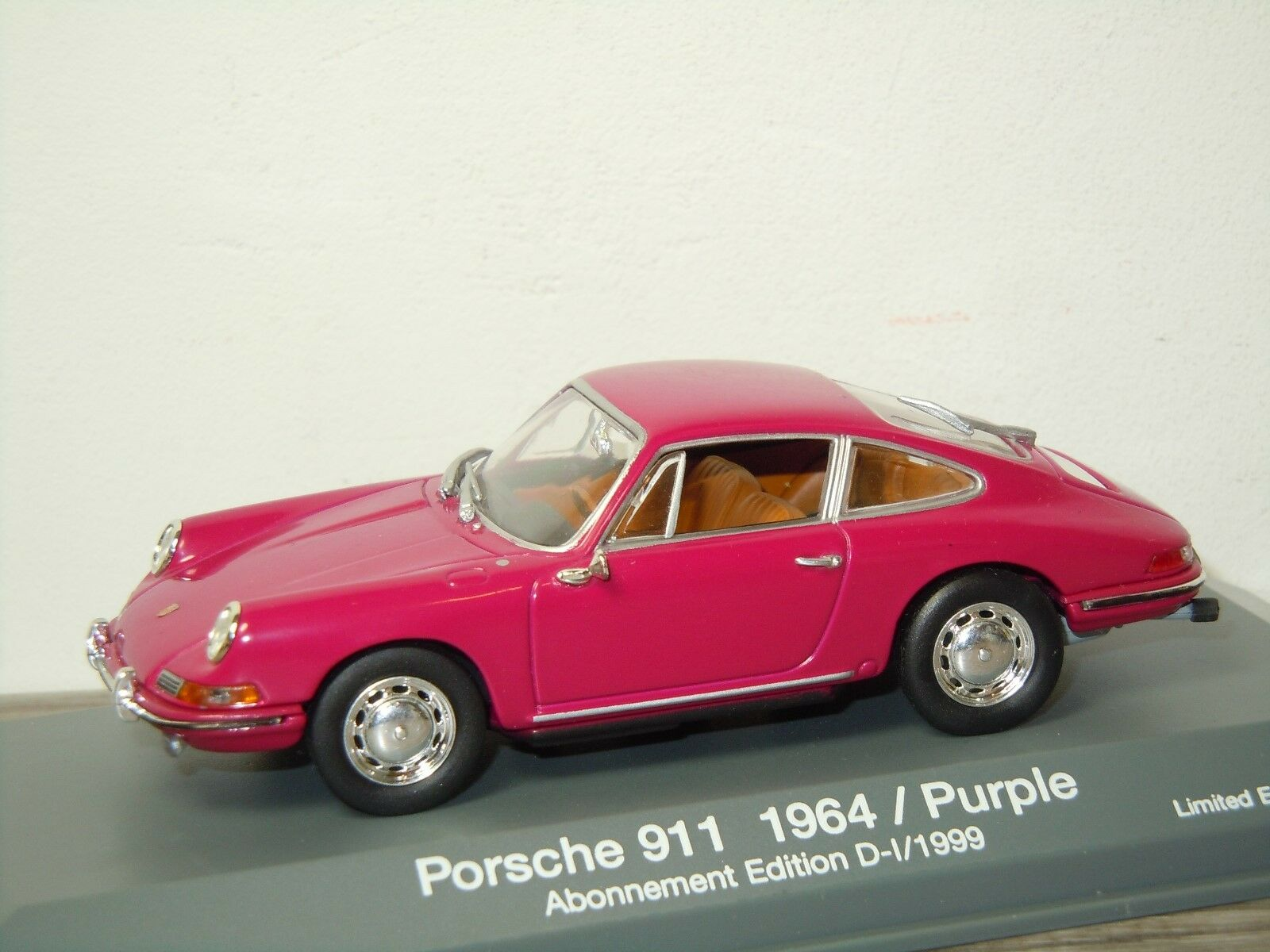 Porsche 911 Coupe 1964 - Minichamps 1 43 in Box 30328