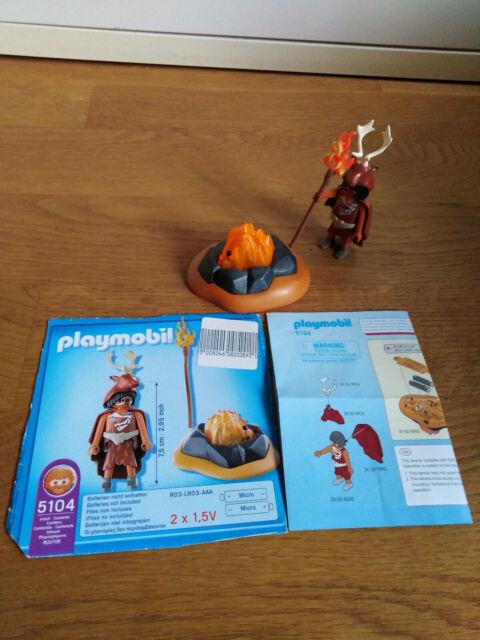 LED Feuerfels Playmobil