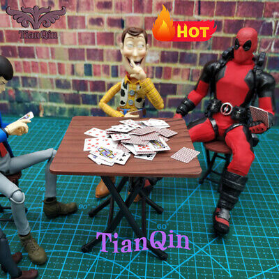"""1//6 Scale Folding Chair Stool Scenes Accessories Fit 12/"""" Action Figure Body Toys"""