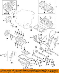 FORD OEM-Valve Cover Gasket BR3Z6584B SOLD INDIVIDUALLY