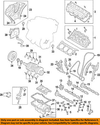 FORD OEM-Valve Cover Gasket 7T4Z6584A SOLD INDIVIDUALLY