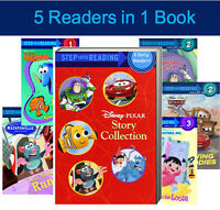 Step Into Reading Disney Pixar Collection 5 Readers 1 Book Nemo,cars,toy Story+