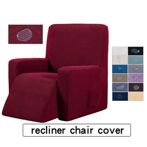 Incredible Details About Stretch Recliner Chair Slipcover Suede Polyester Sofa Couch Cover Protector Theyellowbook Wood Chair Design Ideas Theyellowbookinfo