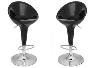 Coppia sgabelli abs bar sedie cucina casa ristorante ufficio