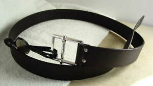KENNETH-COLE-New-York-Dark-Brown-Leather-Dress-Casual-Belt-Mens-size-40-NEW-NWT