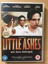 Robert Pattinson LITTLE ASHES ~ 2008 Gay Interest / Salvador Dali Drama   UK DVD