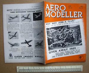 Aeromodeller June 1939 #43 Brown Junior Moteur Essence Usa-montage Détails-afficher Le Titre D'origine