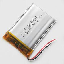 3.7V 500mAh LiPo Polymer Battery Cells For MP3 MP4 PSP Smart Band Speaker 303450