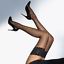 Hot-amp-Sexy-Women-039-s-Fishnet-Pattern-Pantyhose-Tights-Lace-Top-Stockings