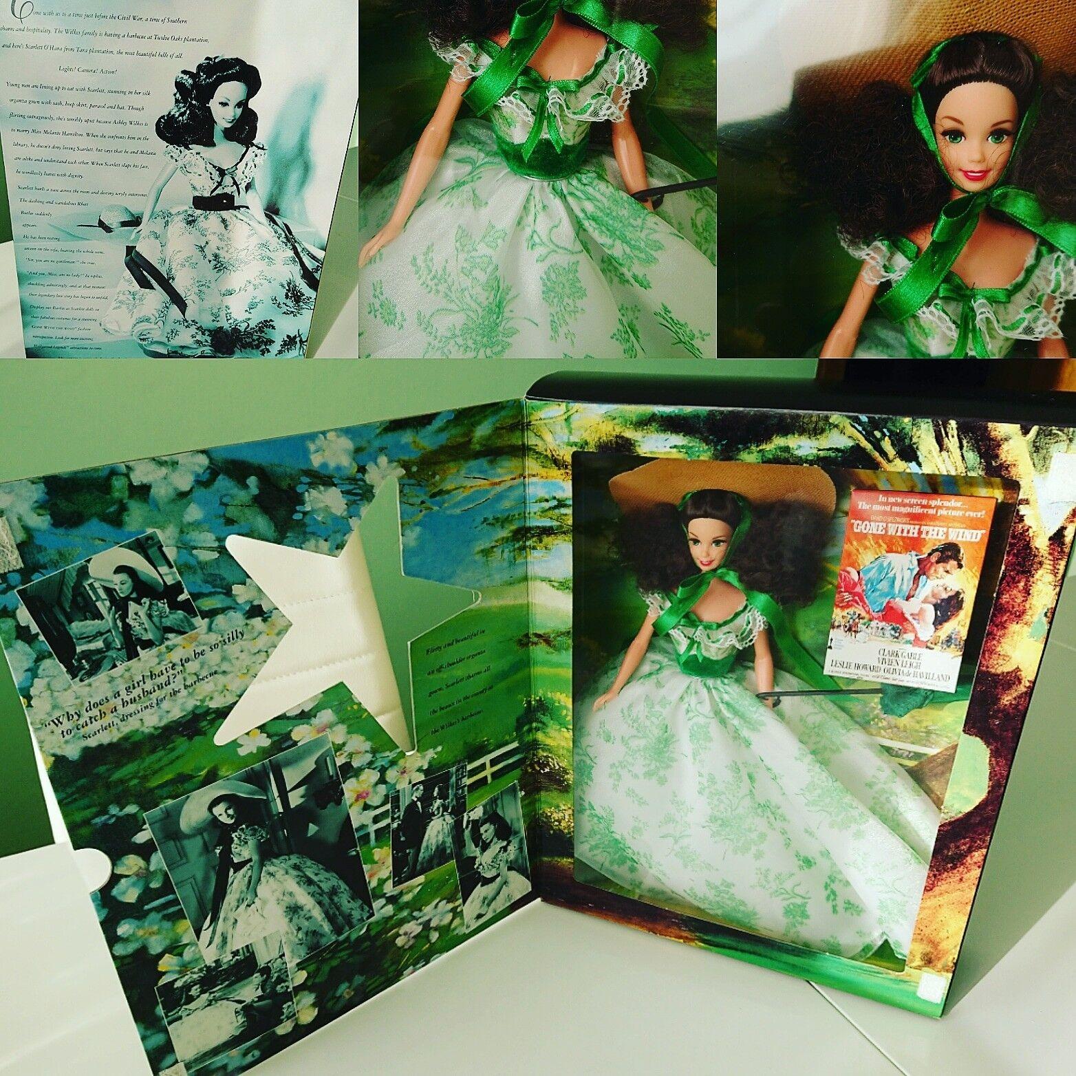 Todos los 4 originales scarlett o 'hara muñecas barbie lo que el viento se llevó, Gone with