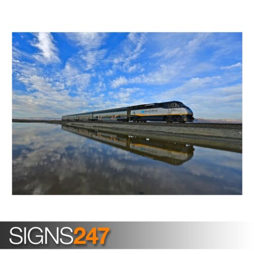 Photo Picture Poster Print Art A0 A1 A2 A3 A4 AB027 TRAIN POSTER NATURE
