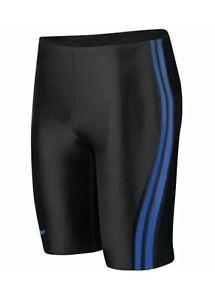 NWT Speedo Men/'s Powerplus Sprint Splice Jammer Swimsuit