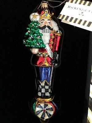 New MacKenzie Childs Tweedle Dee /& Tweedle Dum Christmas//New Years Ornament