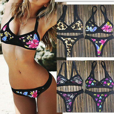 New Women's Bandage Bikini Set Push-up Padded Bra Swimsuit Bathing Suit Swimwear