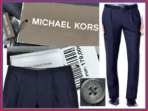 timeless design 24a8e f0743 Detalles de MICHAEL KORS Pantalon Hombre 33 34 US/ 44 46 España !A PRECIO  DE SALDO¡ MK03 T2G