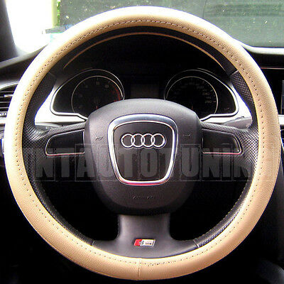 Citroen C2 Black /& Red Sports Grip Steering Wheel Cover Glove 37cm