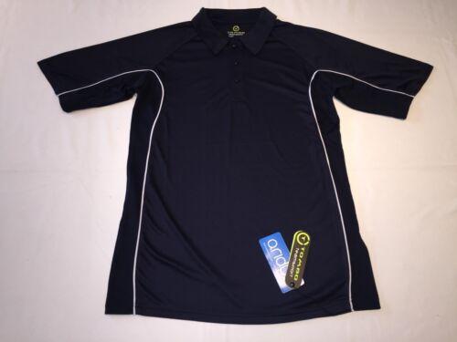 New Men/'s Tombo TL64 Performance polo shirt Navy .L.Q55