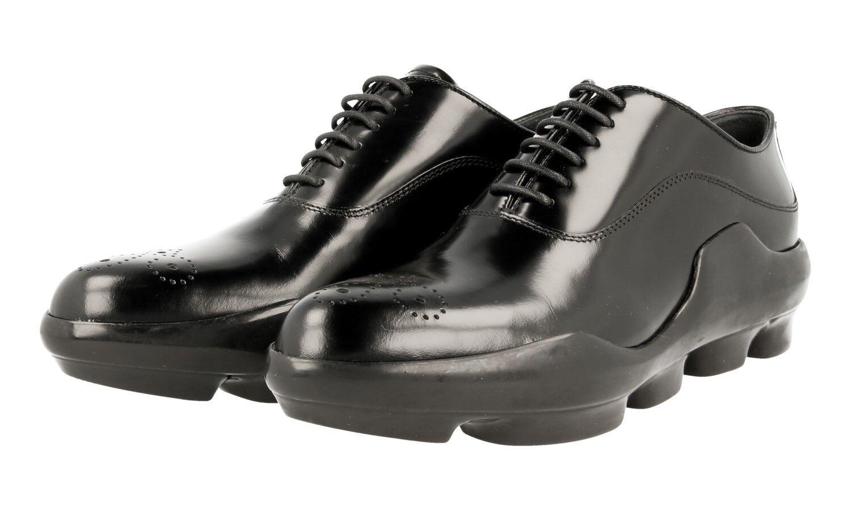 zapatos A LACETS PRADA LUXUEUX 1E047G negro NOUVEAUX NOUVEAUX NOUVEAUX 37 37,5  para mayoristas