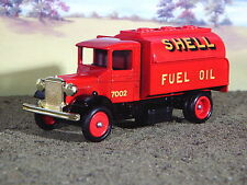 Lledo Spirit of Brooklands, Mack, Shell Fuel Petrol Oil Truck 1:43 Scale
