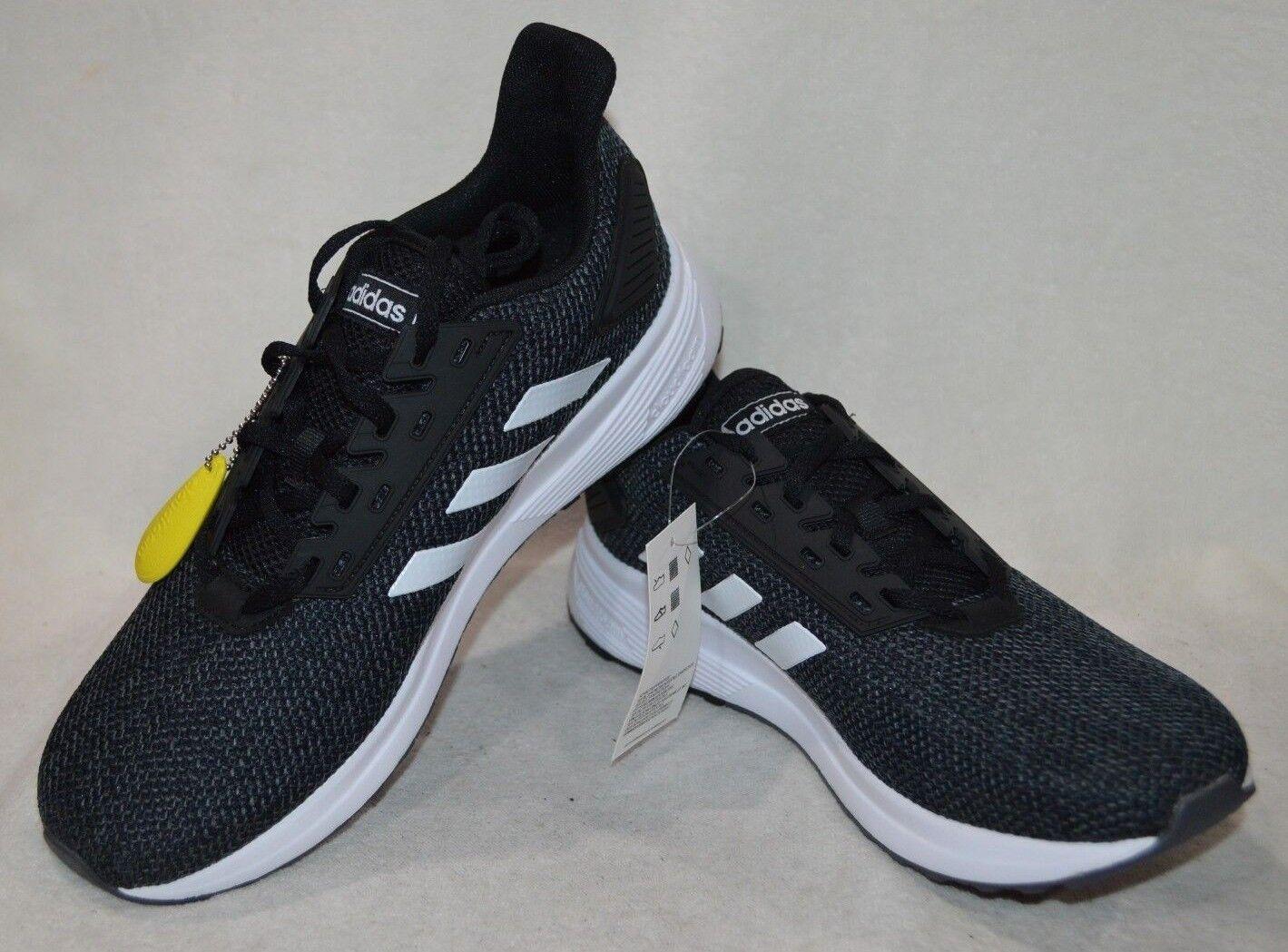 Adidas Femmes Duramo 9 noir blanc Chaussures de Course-Tailles Assorties Neuf avec boîte F35281