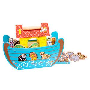 Spielzeug Sonderabschnitt Bigjigs Holz Noah`ark Bj353 Neu & Ovp Holzspielzeug Bereitstellung Von Annehmlichkeiten FüR Die Menschen; Das Leben FüR Die BevöLkerung Einfacher Machen