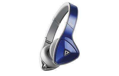 Monster DNA On-Ear Headphones - Cobalt Blue Over Light Grey