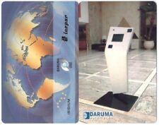 2 SCHEDE TEST CARD PHONE TELEFONKARTE DARUMA