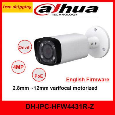 Dahua IPC-HFW5431R-Z 4MP PoE IR 80M  Bullet Camera 2.7-12mm motorized lens