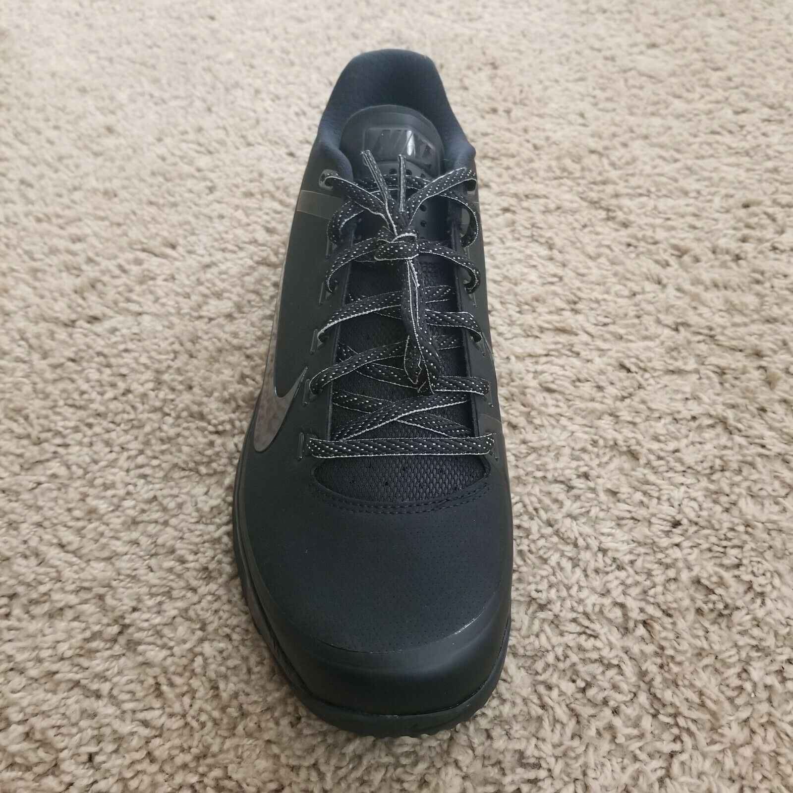 New Nike Lunar Clipper 17' Turf Baseball Trainers 880262 001 Mens Size