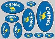 CAMEL STICKER SET - SHEET OF 10 STICKERS - DECALS