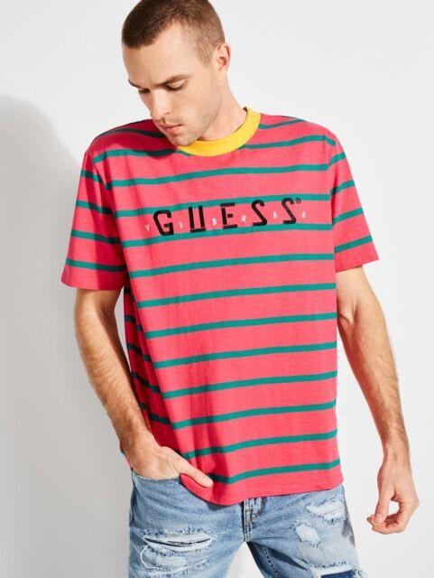 Guess Oversized Logo Men`s T-shirt
