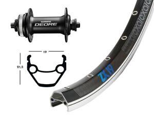 """Bike-parts 26/"""" Roue Avant Exal XL 25 Disc QR Shimano Deore 6 trous"""