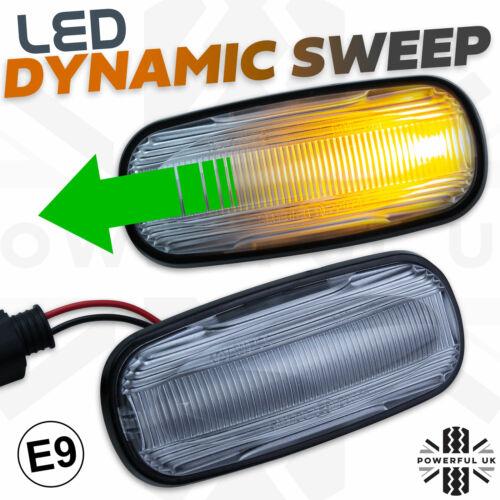 Dynamic sweep LED Side Repeater wing indicator lamp fits Freelander 1 lamp bulb