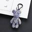 Cute-Teddy-Bear-Keyring-Rhinestones-Gloomy-Bear-Keyring-Handbag-Charm-3D-Pendant thumbnail 8