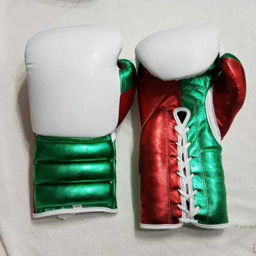 New Custom made Mexican style boxing gloves any logo or Name no winning grant