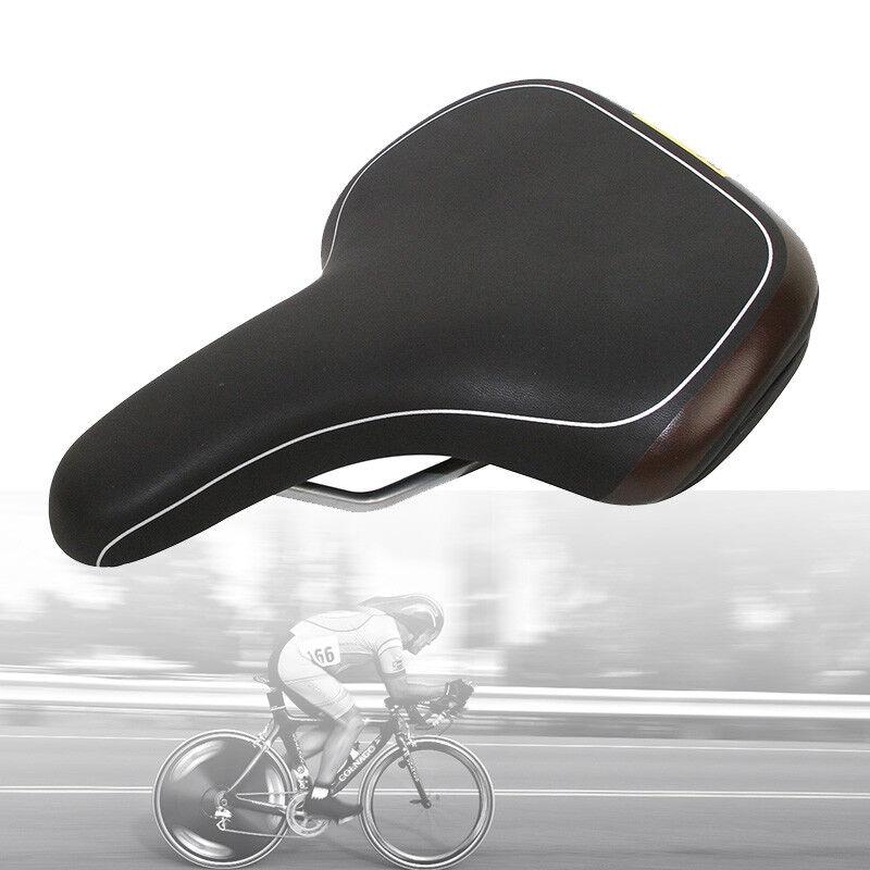 Velo MTB Saddle Plush City Bike Saddle 270x176mm VL-6334 Comfort Hybrid Charity!